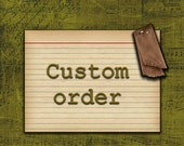 Custom Order for cab2047 ONLY