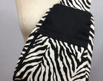 Sling Backpack_Zebra