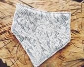 White Lace & Stripes