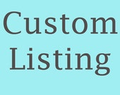 Custom Listing - Clay Aviator Cake Topper