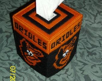 Orioles Tissue Box Cover