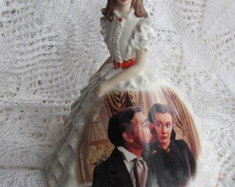 Gone With The Wind Ruffles and Lace Dress Figurine