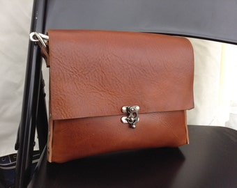Leather Crossbody bag- SHORTY