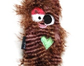 Large Durable Plush Fugly with Heart Fortune & Squeaker- Dang-Du by Fugly Friends