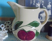 Watts ware apple pitcher