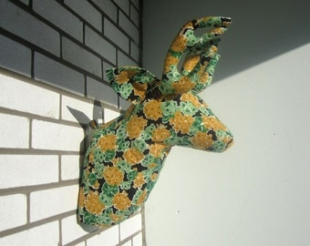 Sewing Pattern Wall Mounted Deer Head Sewing Pattern PDF