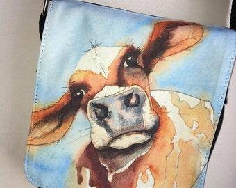 Silly Moo- 'Bertie' cross body bag