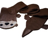 Otter Fleece Scarf