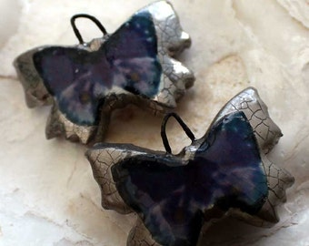 Butterfly Dangle Pair #8