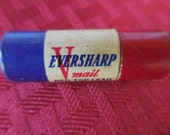 Vintage 1940s to 1950s Red/White/Blue Eversharp V Mail Red Top Lead Tiny Chicago Made in U.S.A. Cardboard Container Tube Pencil Refills