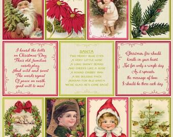 "Authentique Paper ""Classic Christmas"" Collection Cut Apart Sheets"