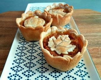 Pumpkin Mini Pies (set of 4)