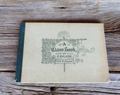 Antique A Class Book of Color Mark M. Maycock 1896 Milton Bradley Publisher Teachers Art Book Antique School House Book Theory of Color