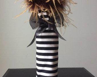 Posh Wine Bag/Gift Bag/Hostess Gift/Wedding Gift/On SALE