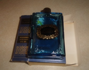 vintage avon perfume bottle windjammer after shave avon classics book empty
