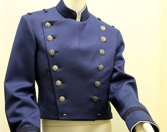 Steampunk Military Jacket 37Long (West Point)