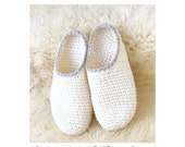 Crochet-Knit Slipper-Clogs - Basic Pattern - Instant Download Pdf