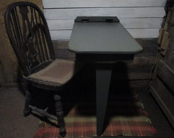 folding tavern table primitive wall mounted table computer table fold down desk