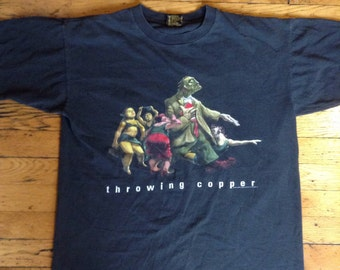 1994 Live Throwing Copper t shirt USA XL