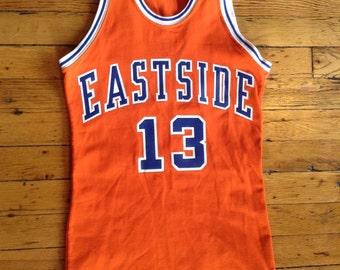 Vintage Eastside basketball jersey USA 36