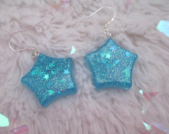 Twinkle Earrings {blue}
