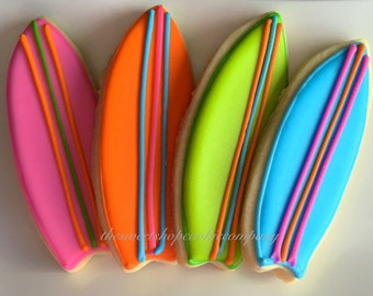 Surf Board Cookies 2 dozen