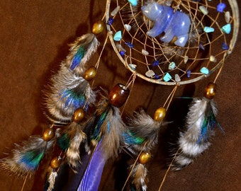 Dream Catcher- Bear Medicine-Devils Claw Dream Catcher