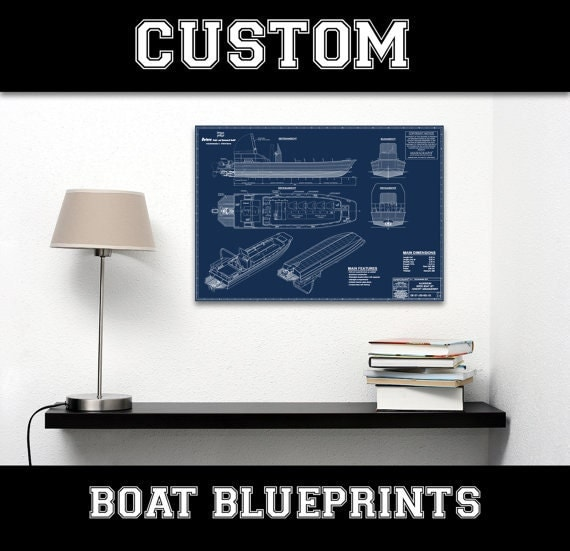 Your custom boat diagram blueprint line drawing schematic for 12x15 calculator