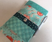 OOAK Ready to Ship Travelers Notebook with Zipper Pocket and Charm