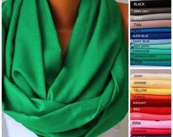 High quality GREEN  infinity scarf ,pashmina fabric scarf ,circle scarf,Loop scarf ,tube scarf,necklace scarf