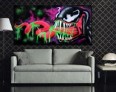 Venom Graffiti Art on Can...