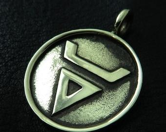 Bronze Veles pendant