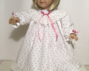 "American Girl Nightie - 18"" doll Nightie, sleepwear"
