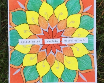 Mandala Coloring Book - Spirit Grind - Zine