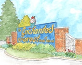 Enchanted Forest, Amusement Park, Rhode Island