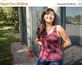 Clearance Large Anatomical Heart Ladies Tank Top - American Made - Racerback Tank
