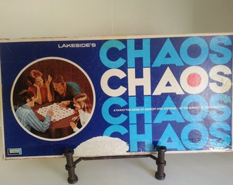 1971 Lakeside Chaos -family fun game of memory and strategy
