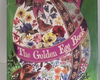 1966 The Golden Egg Book Illustrated by Leonard Weisgard Large Golden Book
