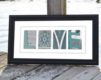 "Alphabet Photography Decoration CREATE Print: Unframed 10""x20"""