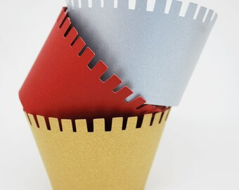 Medieval Castle Cupcake Wrappers In your choice of color Qty 12