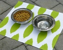 Dog Food Mat, Custom Dog Mat, Dog Placemat, Pet Placemat, Pet Bowl Placemat, Custom Puppy Dog Pet Placemat