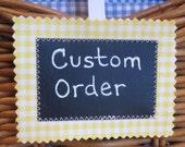 Custom Listing/SWEET NATURALS Organic Line/Baby Blanket/Cardinal Stagger(Organic)/Organic Cotton Fleece/Organic Thread