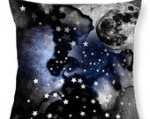 Decorative Pillow Accent Pillow Cushion Moon Stars Home Starman