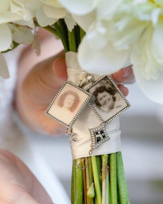 Kits To Make Wedding Bouquet Charms Photo Pendants Charms