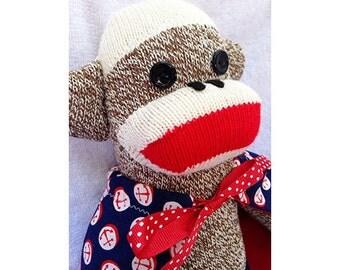Sock Monkey - Ahoy Matie