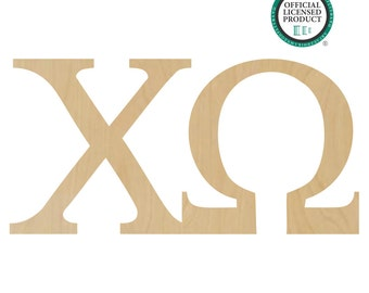 Chi Omega Greek Letters Connected - Chi Omega Sorority, Sorority Letters, Chi Omega Letters, Chi Greek Letters, Omega Greek Letters