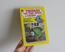 Thomas the Tank Engine Notebook handmade from a vintage Ladybird Book