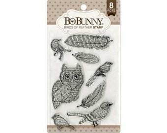 BIRDS of a FEATHER Stamps by BoBunny