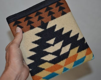 Oasis Kindle sleeve cover case handcrafted of Wool fabric Southwestern Rancho Arroyo simple kindle oasis sleeve electronics cases