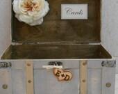 Large Wedding Trunk Card Holder Vintage Wedding Card Holder Rustic Wedding Card Box Wedding Box Wedding Card Trunk Wedding Decorations